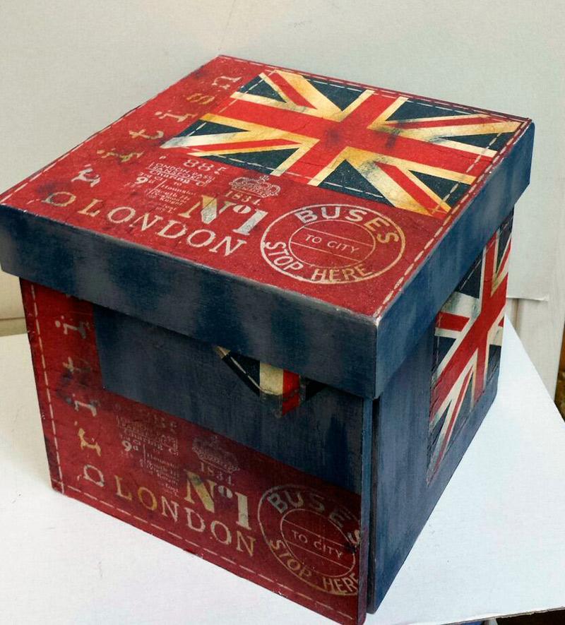 Hazlo t taller de decoupage en barcelona - Cajas madera barcelona ...