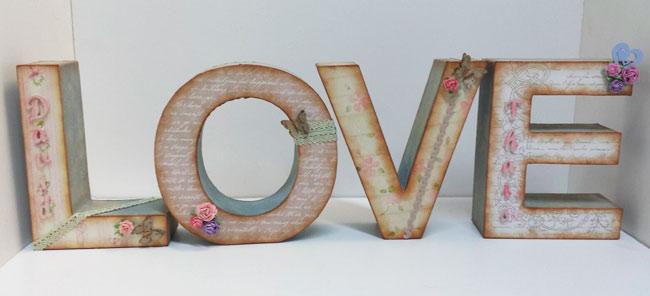 Lo ltimo en decoraci n letras de madera hazlo t - Casa letras madera ...