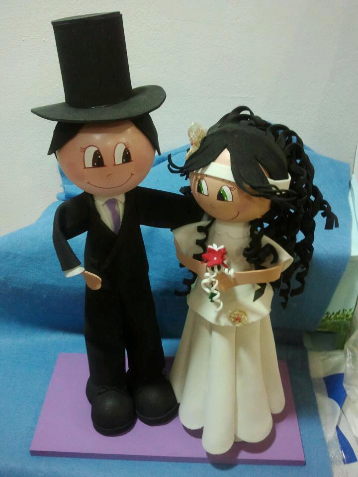fofuchas de bodas - hazlo tú