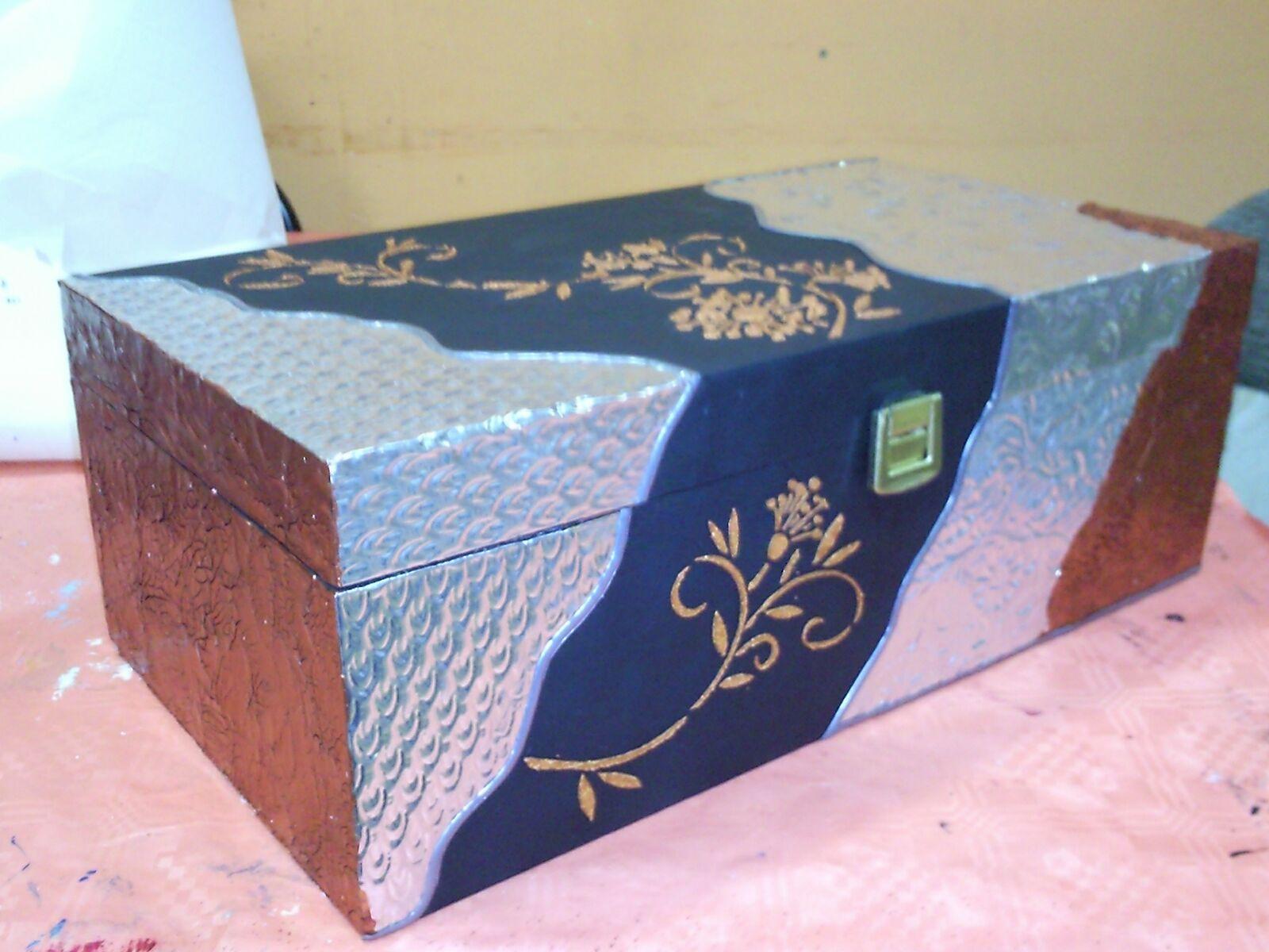 Hazlo t manualidades barcelona tecnicas sobre madera 2 - Cajas madera barcelona ...