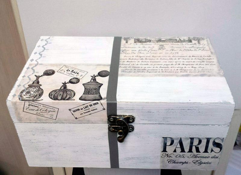 tecnicas sobre madera parte 2 especial cajas